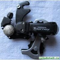Задний переключатель (суппорт) SHIMANO Tourney с крюком.