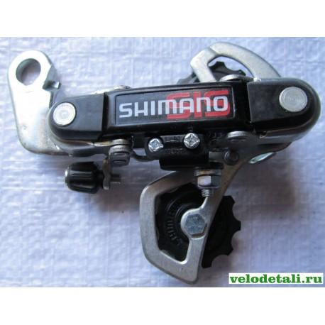 Задний переключатель (суппорт) SHIMANO с отверстием под болт.