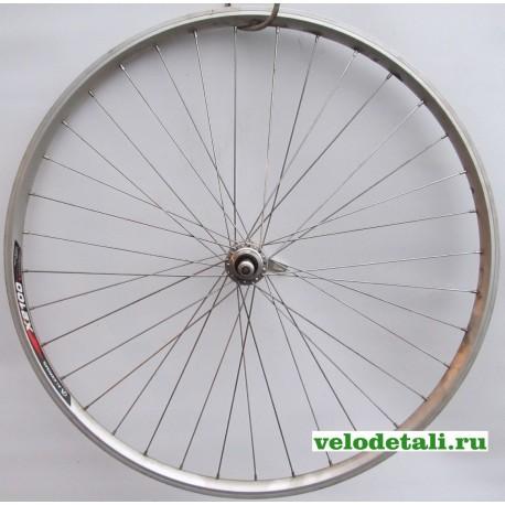 """Заднее колесо 28""""- 29"""" с алюминиевым двойным ободом А(б) Х-2100, со спортивной задней втулкой с креплением под эксцентрик."""