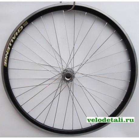 """Заднее колесо 28""""- 29"""" с алюминиевым двойным ободом СН(ч), под импортную односкоростную втулку."""