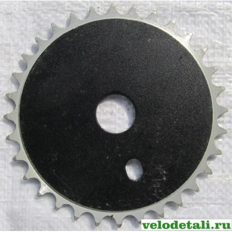Звезда на правый шатун велосипеда ВМХ, алюминиевая, 32 зуба.