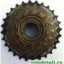 Звёздочки заднего колеса для велосипеда производства фирмы SHIMANO. Трещётка c семью звёздочками.