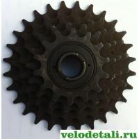 Звёздочки заднего колеса для велосипеда советского производства.