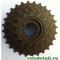 Звёздочки заднего колеса для велосипеда. Трещётка с семью звёздочками.
